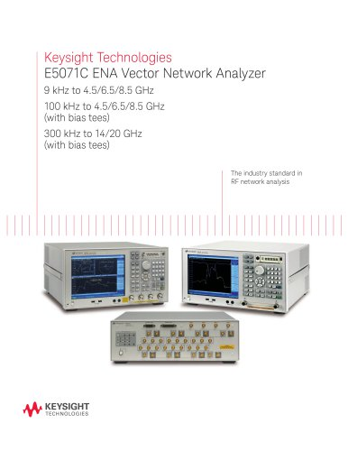 E5071C ENA Network Analyzers
