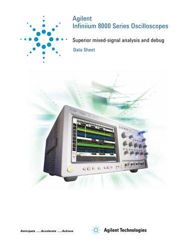 Infiniium 8000 Series Oscilloscopes