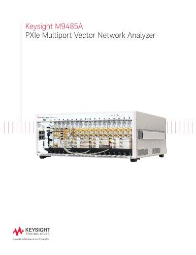 Keysight M9485A  PXIe Multiport Vector Network Analyzer