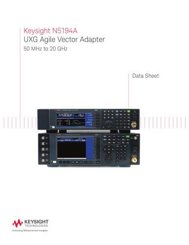 Keysight N5194A UXG Agile Vector Adapter 50 MHz to 20 GHz