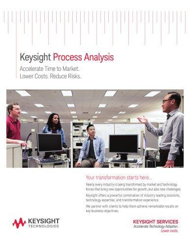 Keysight  Process Analysis