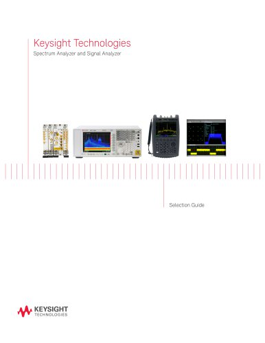 Keysight Technologies Spectrum Analyzer and Signal Analyzer