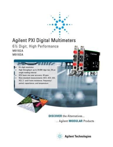 M9182A Digital Multimeter, 6½ digit, PXI