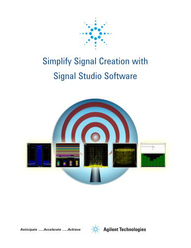 Simplify Signal Creation with Signal Studio Software