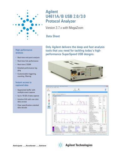 U4611A/B USB 2.0/3.0 Protocol Analyzer