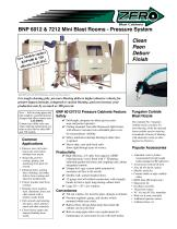 BNP 6012 & 7212 Mini Blast Room- Pressure System (Rev. E)