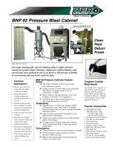 BNP 65 Pressure Blast Cabinet (Rev. E)