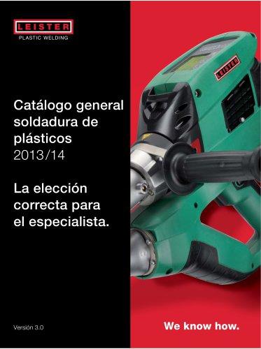 Catálogo general Soldadura de plásticos
