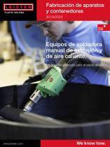 Fabricación de aparatos y contenedores