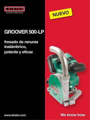 La fresadora de ranuras a batería GROOVER 500-LP
