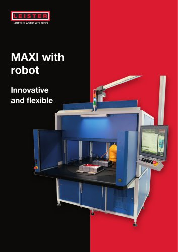 Laser Welding MAXI with robot