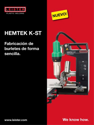 Maquina de Soldadura HEMTEK K-ST