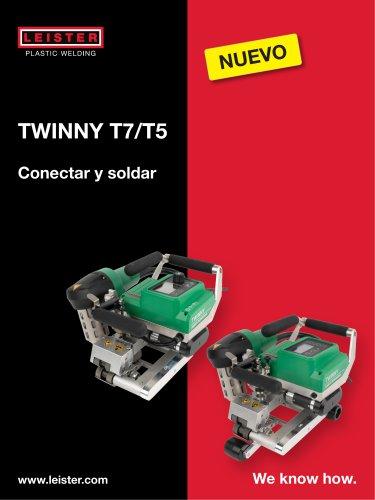Soldadora automatica TWINNY T7/T5