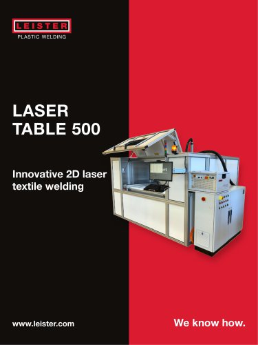 Welding table LASER TABLE 500
