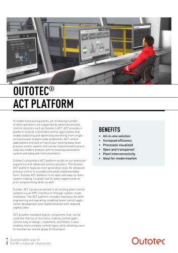 Outotec® ACT Platform