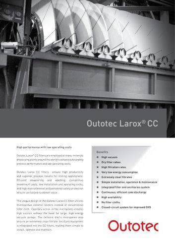 Outotec Larox ®  CC