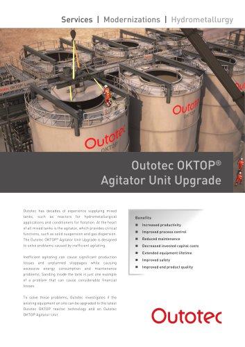 Outotec OKTOP® Agitator Unit Upgrade