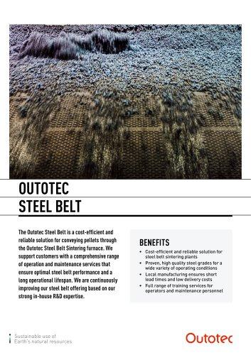 OUTOTEC STEEL BELT