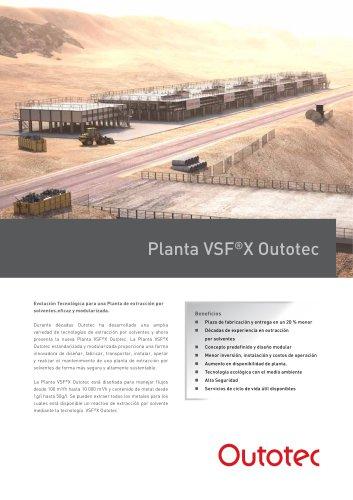 Planta VSF®X Outotec