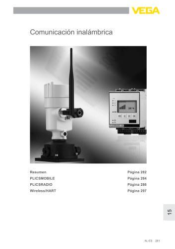 Catálogo de los productos: Comunicación inalámbrica PLICSMOBILE, PLICSRADIO  (Acondicionadores de señal)