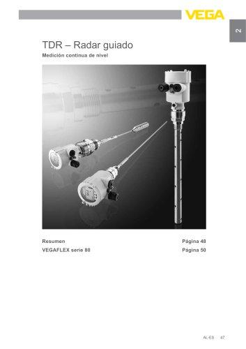 Catálogo de los productos: Radar guiado VEGAFLEX (Medición de nivel)