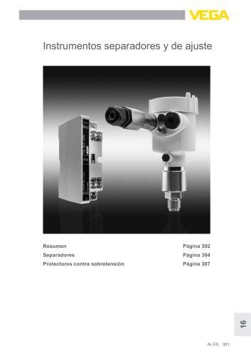 Catálogo de los productos: Separadores y equipos de protección (Acondicionadores de señal)