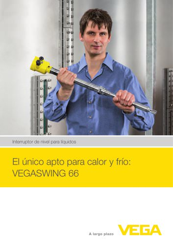 Interruptor de nivel para líquidos: VEGASWING 66