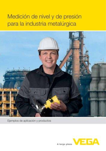 Medición de nivel y de presión para la industria metalúrgica