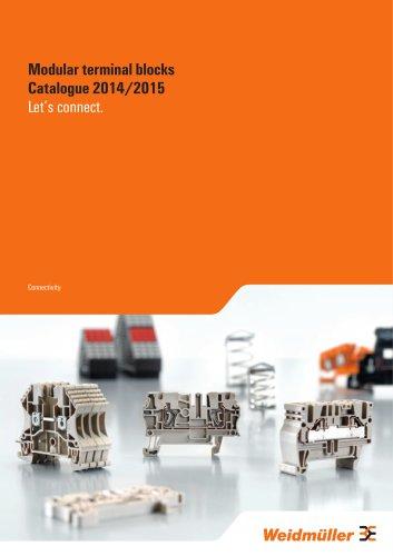 Modular terminal blocks Catalogue 2014/2015