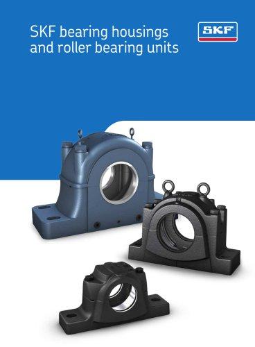 SKF bearing housings and roller bearing units
