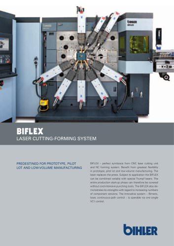 BIFLEX NC LASER CUTTING-FORMING SYSTEM