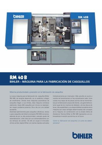 Bihler - Máquina para la fabricación de casquillos RM 40B