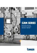Brochure cam-controlled multi-slide machines GRM series