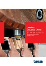 """Brochure Contact welding units """"Quickchange"""""""