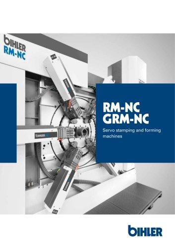 Brochure RM-NC / GRM-NC servo multi-slide machines