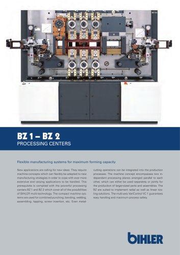 BZ 1- BZ 2 PROCESSING CENTERS