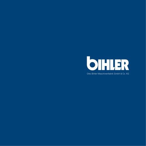 Imagebrochure Bihler