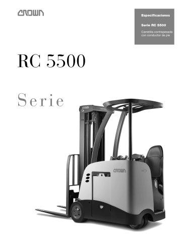 Carretilla elevadora de 3 ruedas, RC 5500