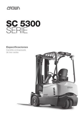 Carretilla elevadora de 3 ruedas, SC 5300