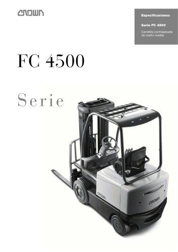 Carretilla elevadora de 4 ruedas, FC 4500