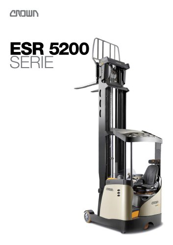 Carretilla retráctil ESR 5200 catálogo
