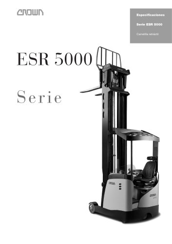 Carretillas retráctiles ESR 5000