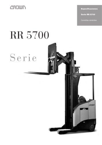 Carretillas retráctiles de pantógrafo RR 5700