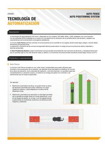 Especificaciones de tecnología de automatización