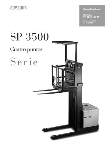 Recogepedidos de alto nivel (4 puntos) para carros o accesorios de picking SP 3571/81
