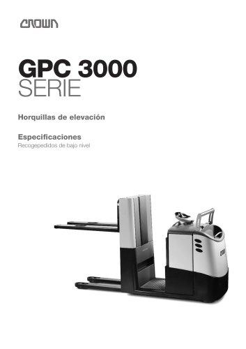 Recogepedidos GPC 3000 Horquillas de elevación