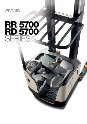 RR 5700 Reach Forklift