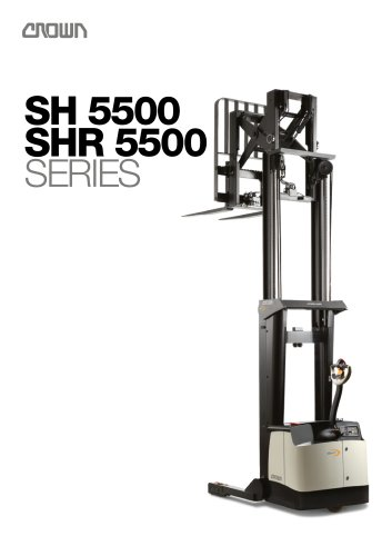 Straddle Stackers SH 5500