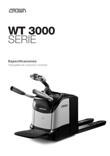 Transpaleta eléctrica WT 3000