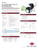 SCT-0250-030 UL-Listed Current Transformer